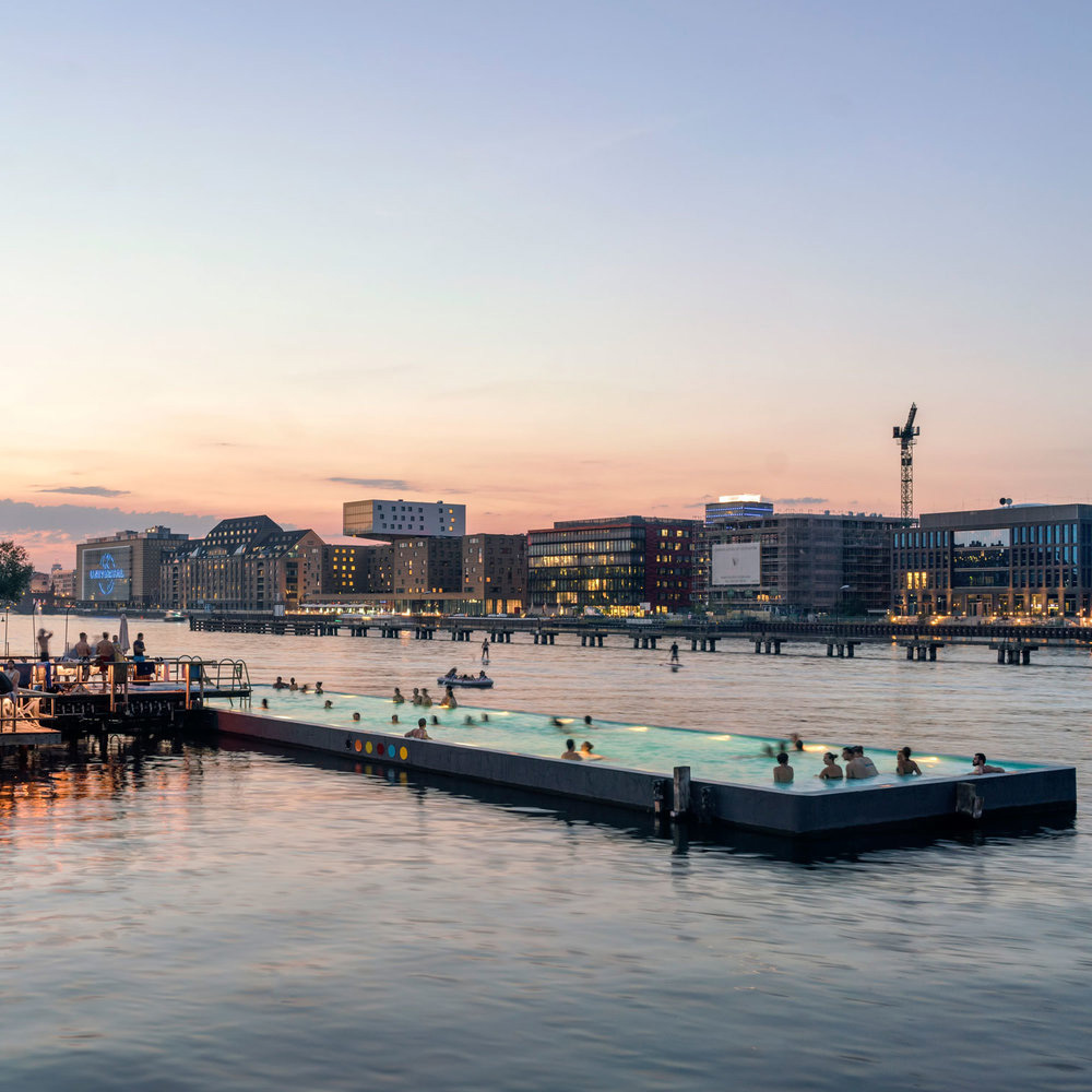 Badeschiff in Berlin