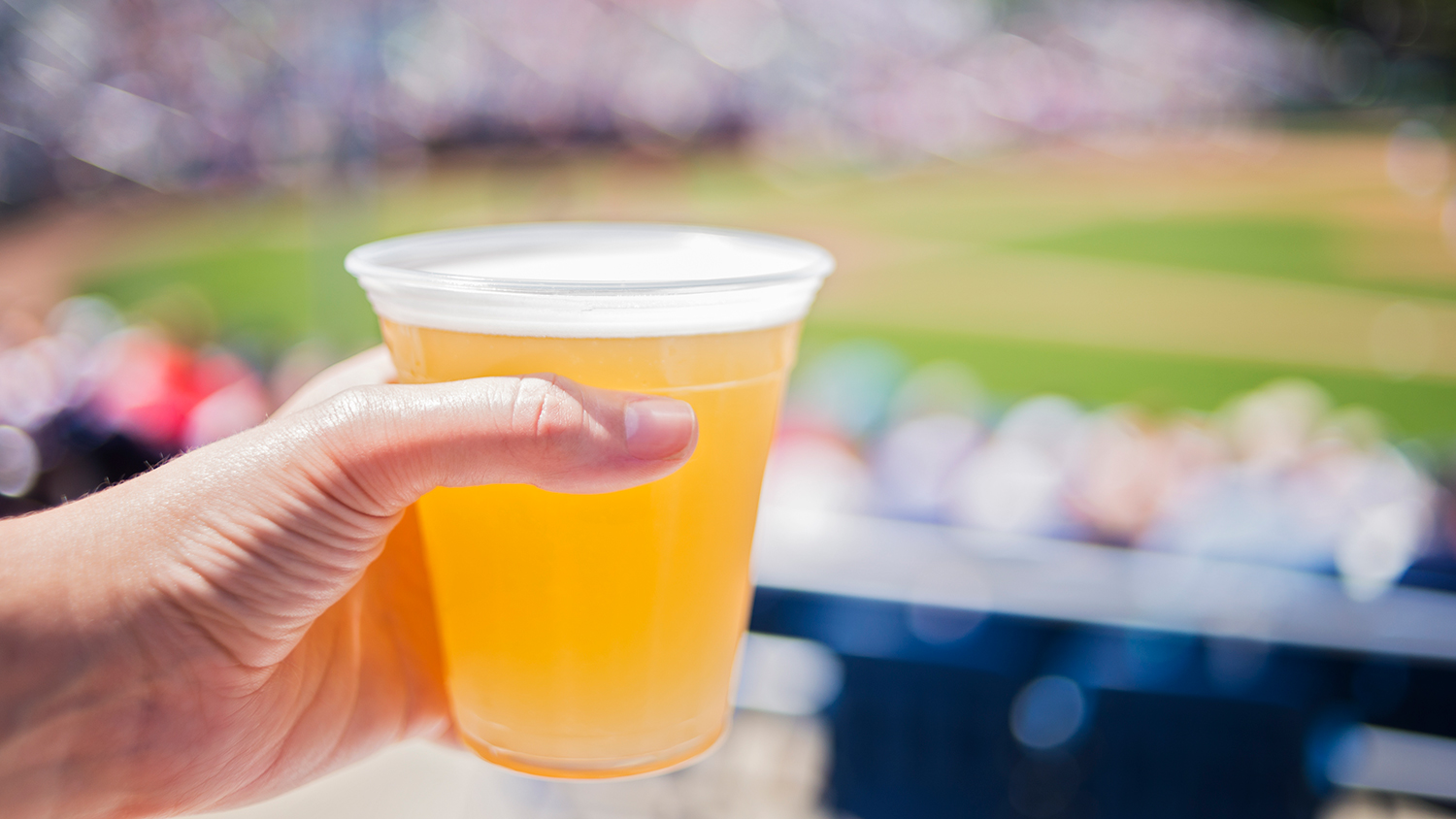 baseball fans vs football fans beer