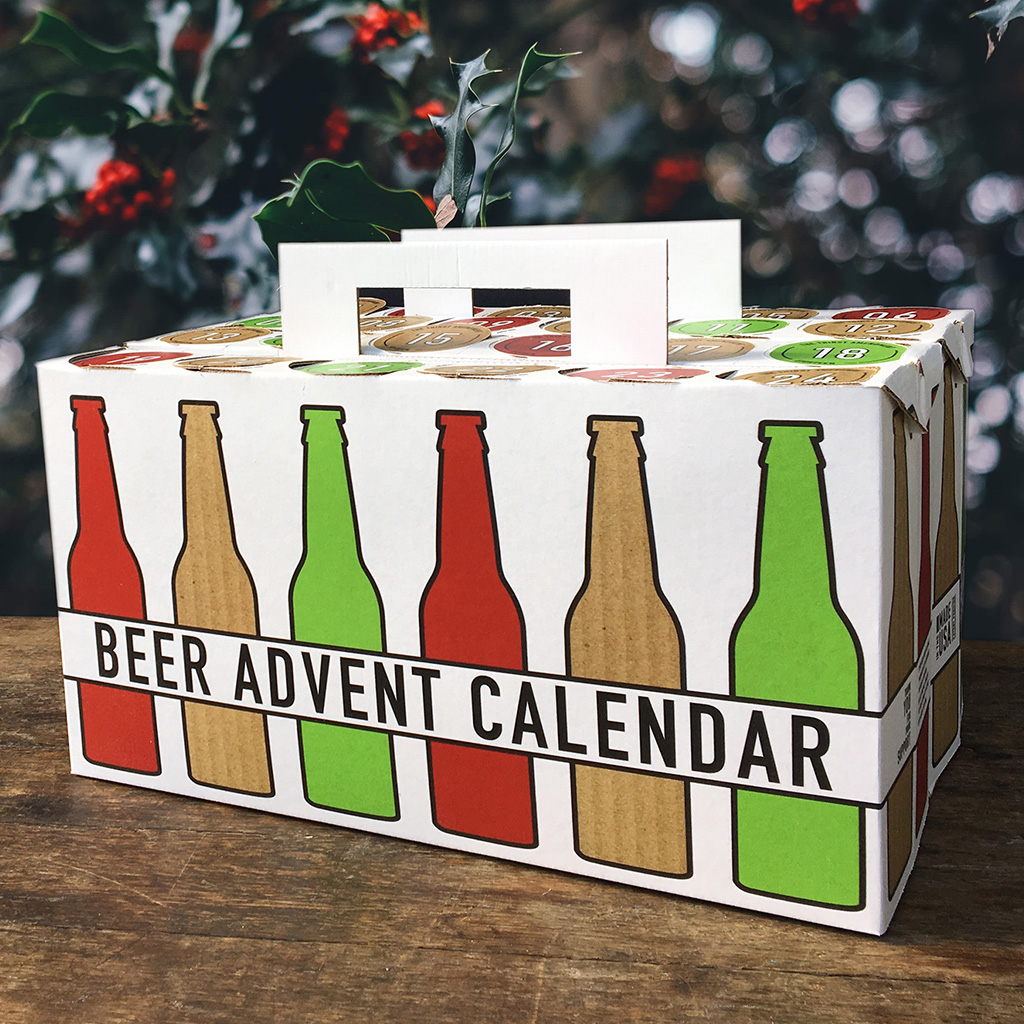 Diy Wine Advent Calendar : The beer advent calendar is an excellent way to drink your