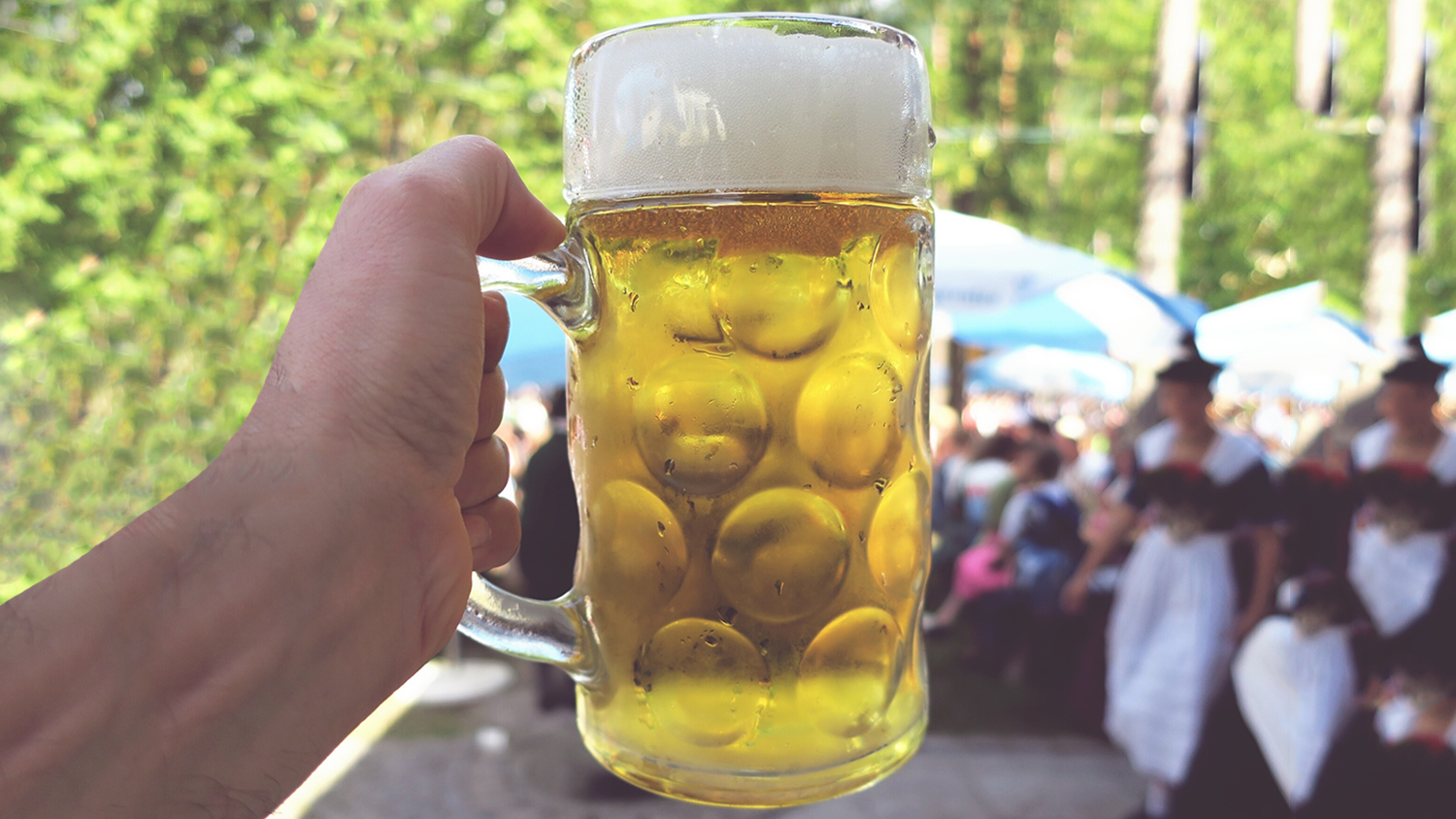 beer at a fair