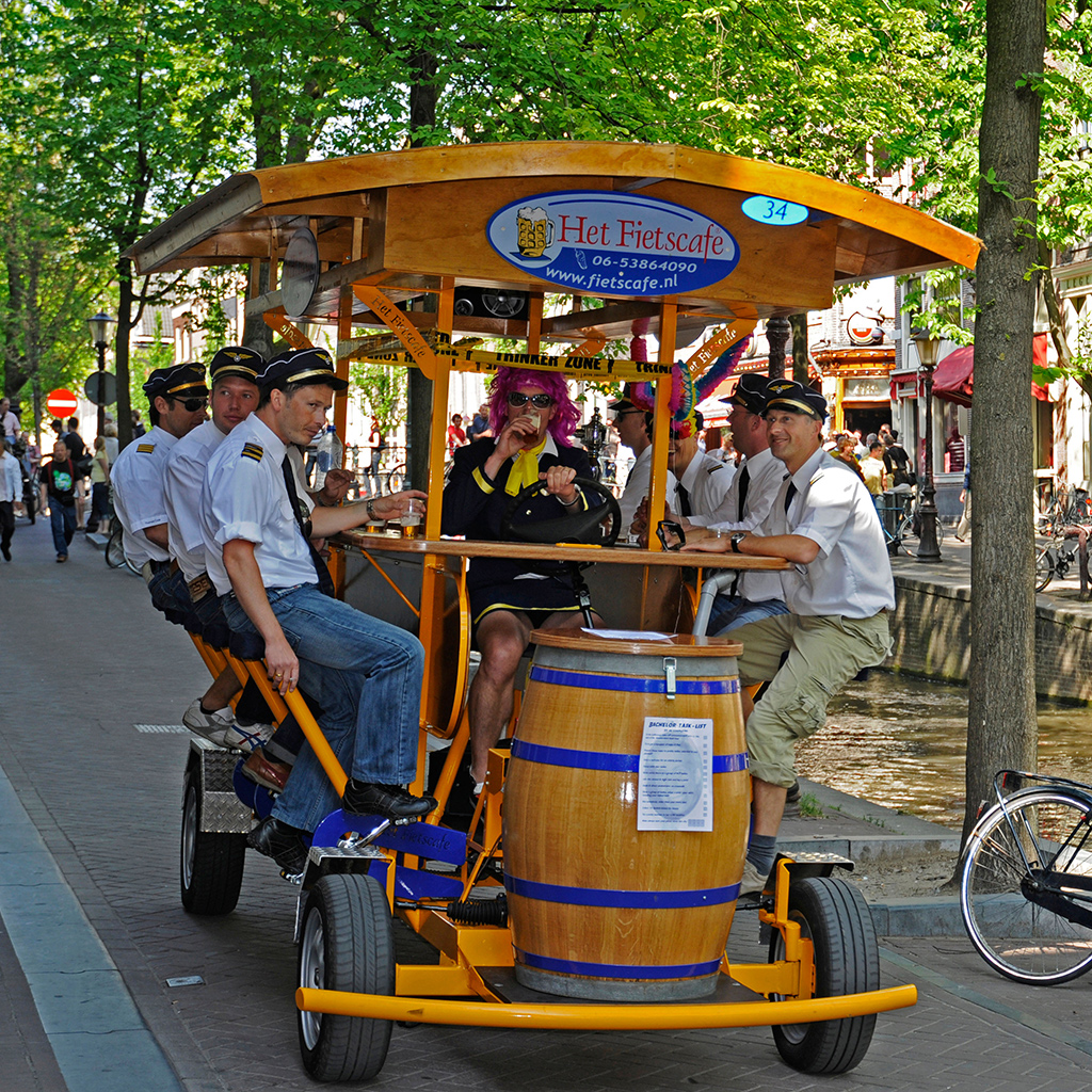 Beer, Bike, Amsterdam