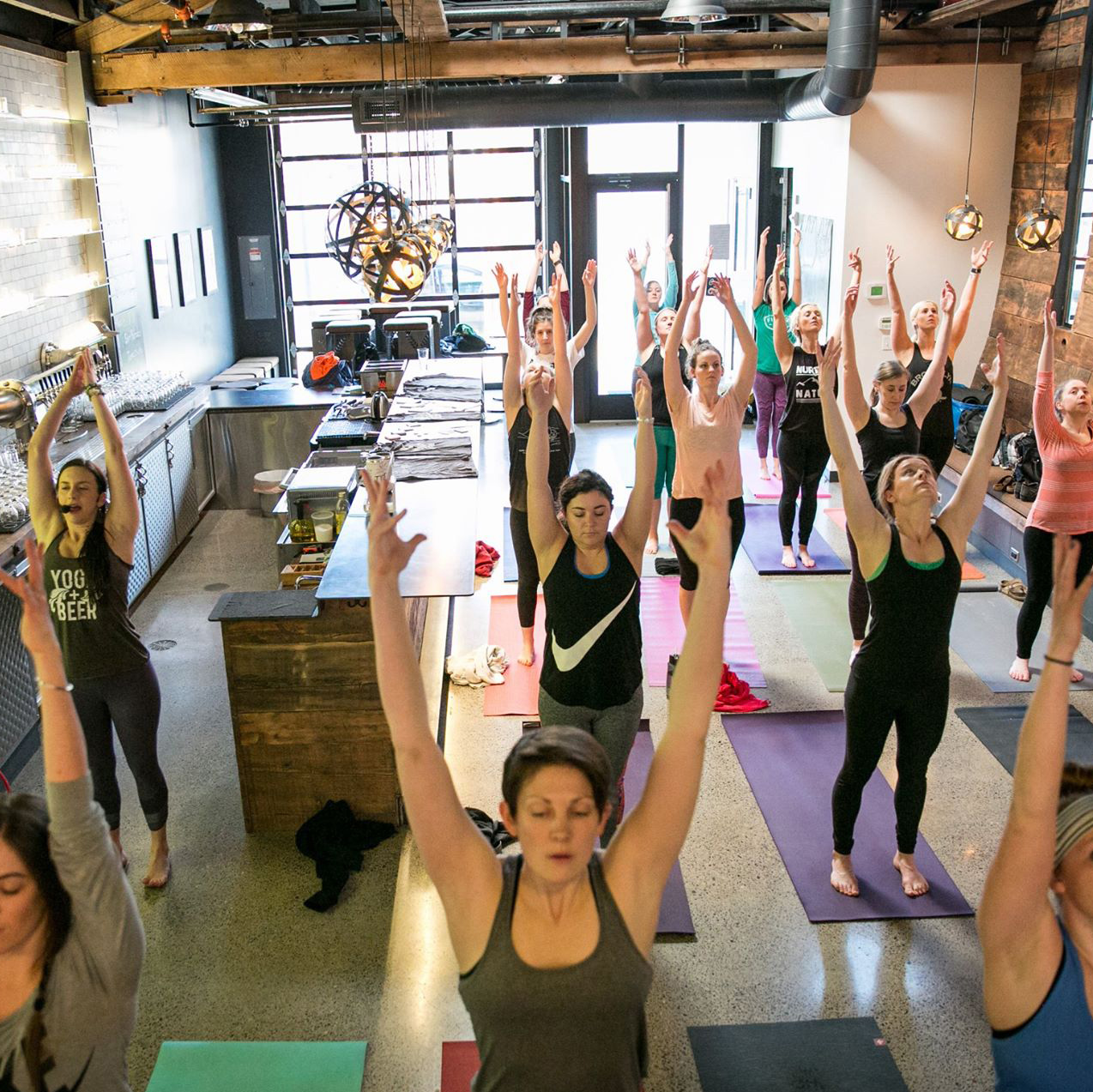You Can Join Up With The Nationwide Beer Yoga Tour This Summer