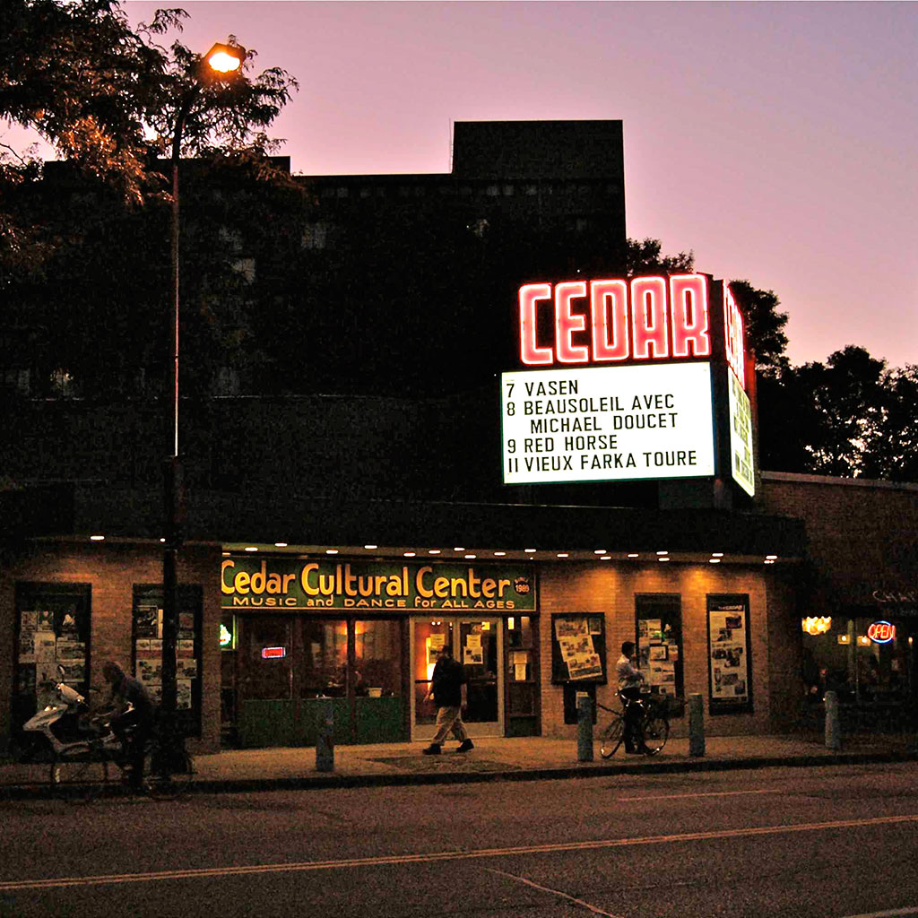 BEST MUSIC VENUES MINNEAPOLIS THE CEDAR FWX