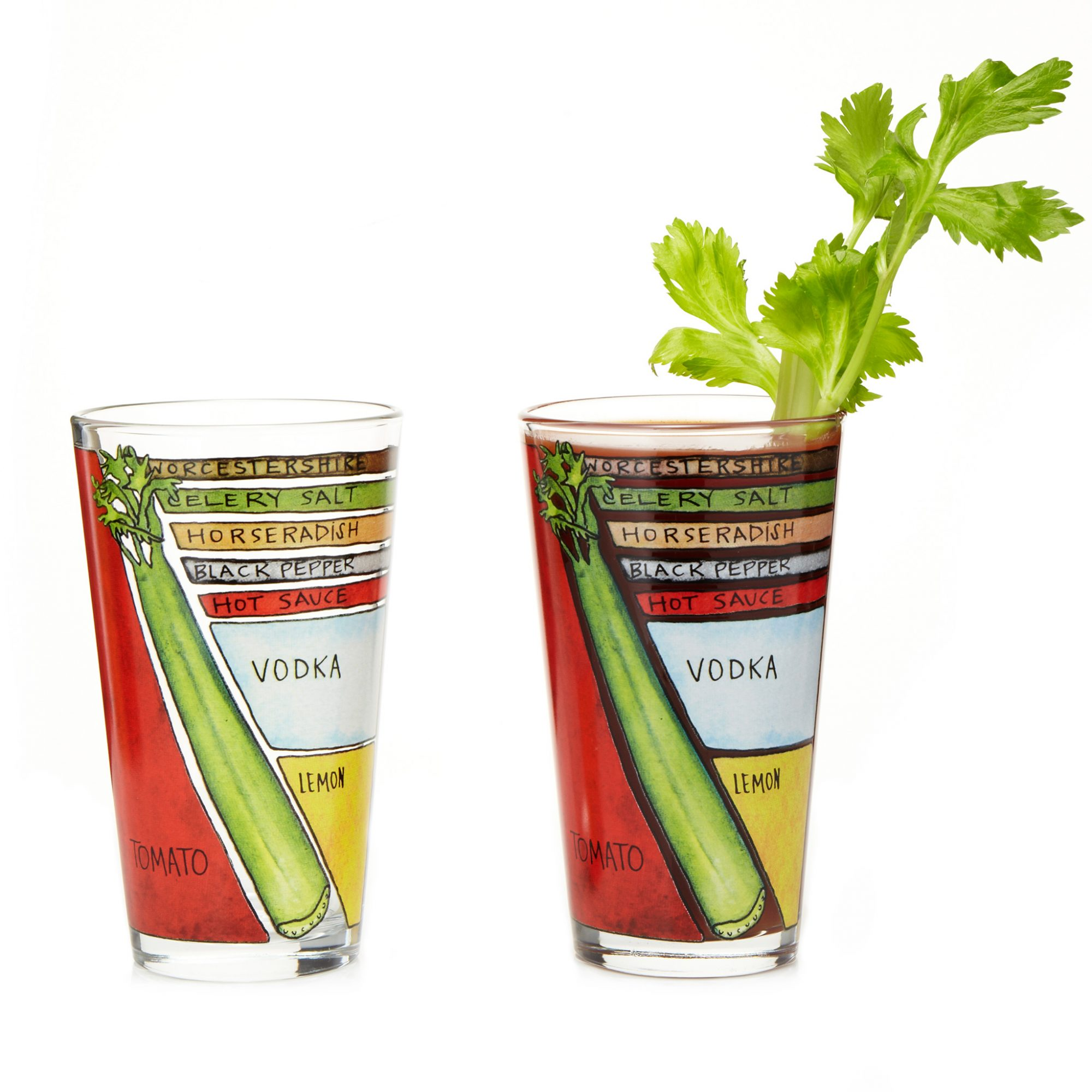 Bloody Mary, Glasses, UncommonGoods