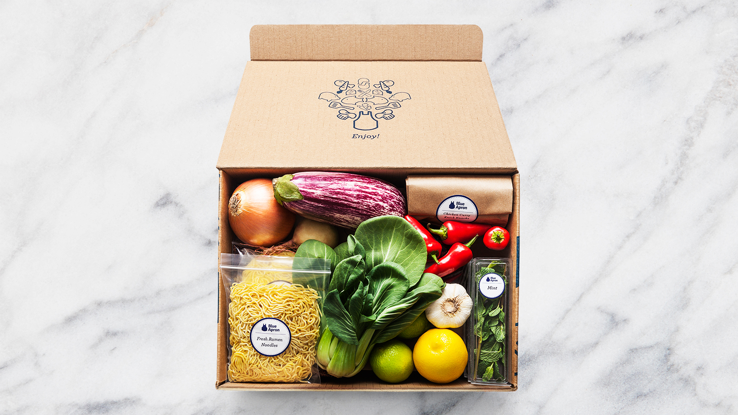 Blue Apron, the Popular Meal-Kit Delivery Service, Has Filed to Go Public