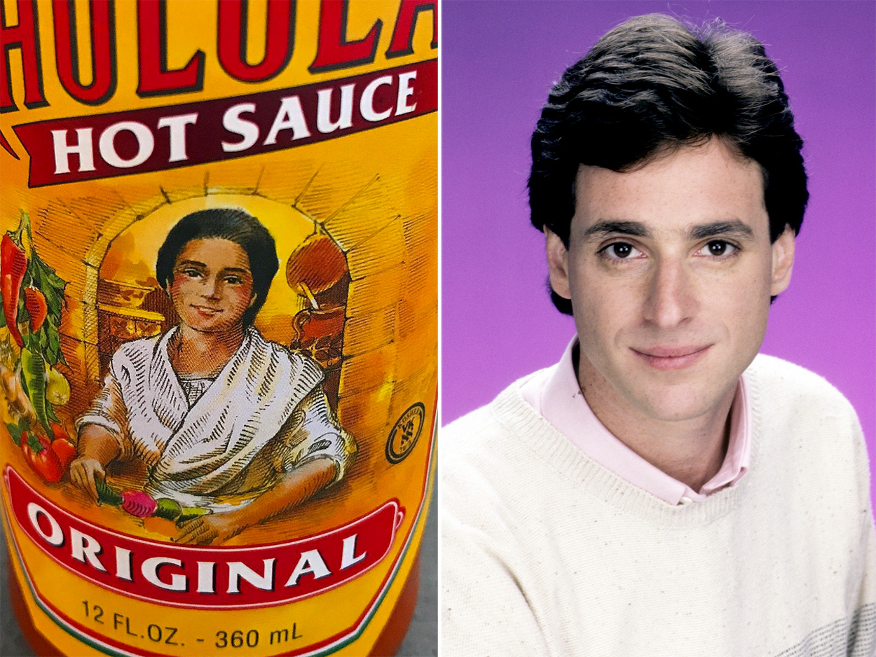 Does Bob Saget Look Like the Cholula Hot Sauce Woman?