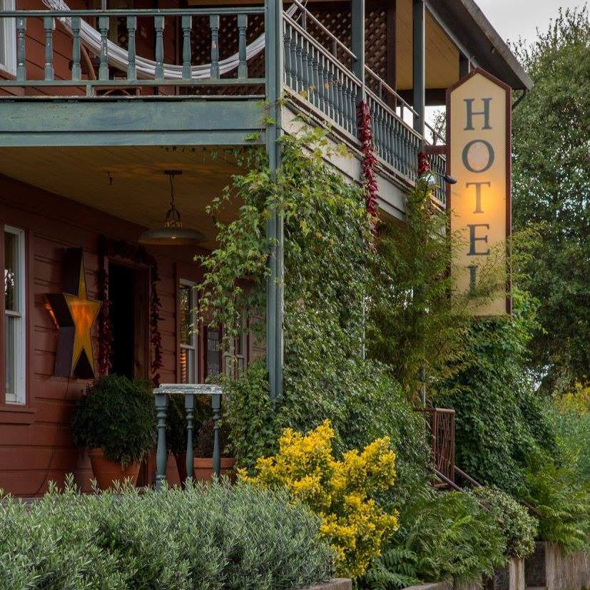 Sonoma, California Save: Boonville Hotel