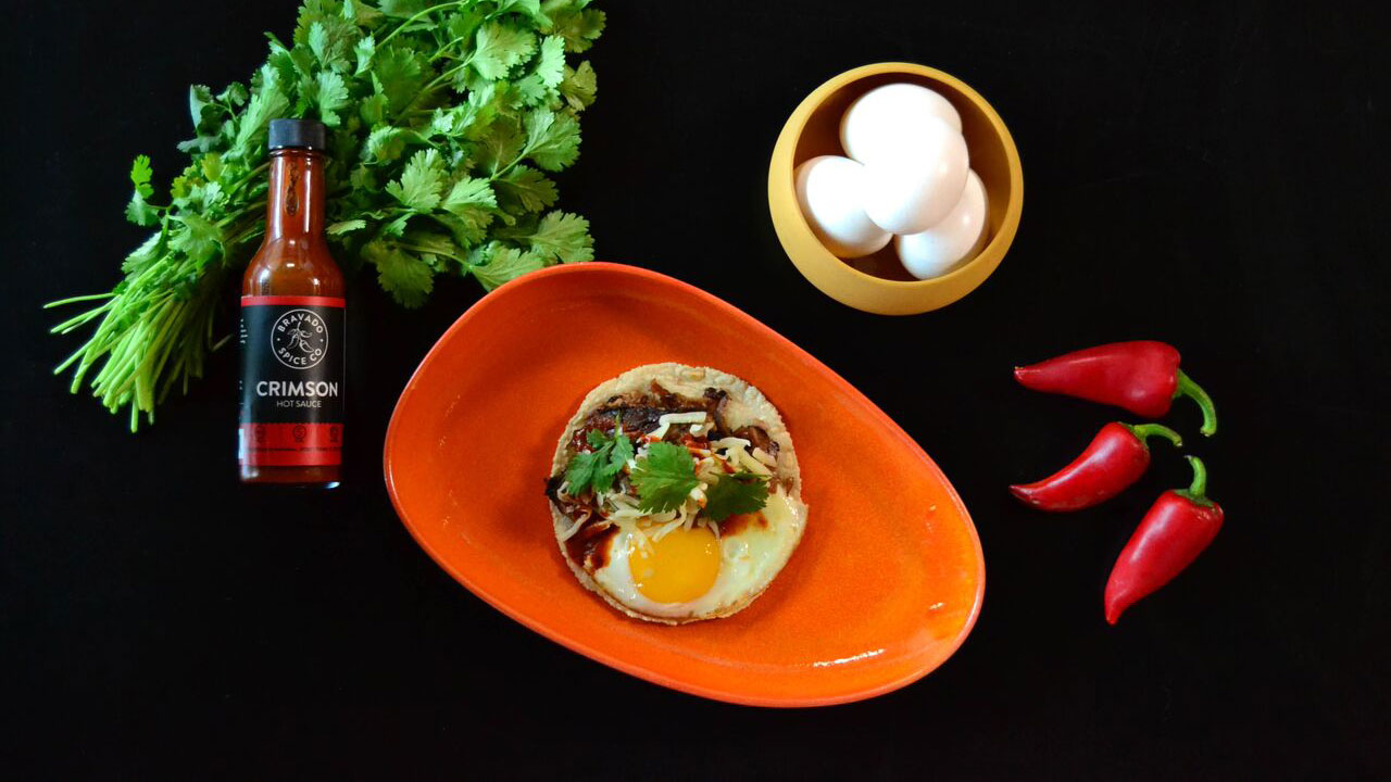 Breakfast Tacos Hot Sauce Pairing