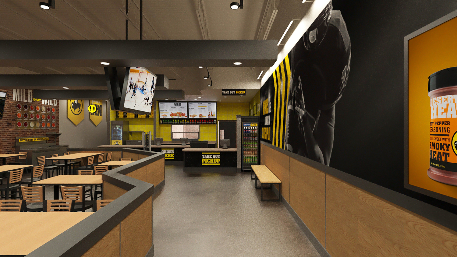 buffalo wild wings express
