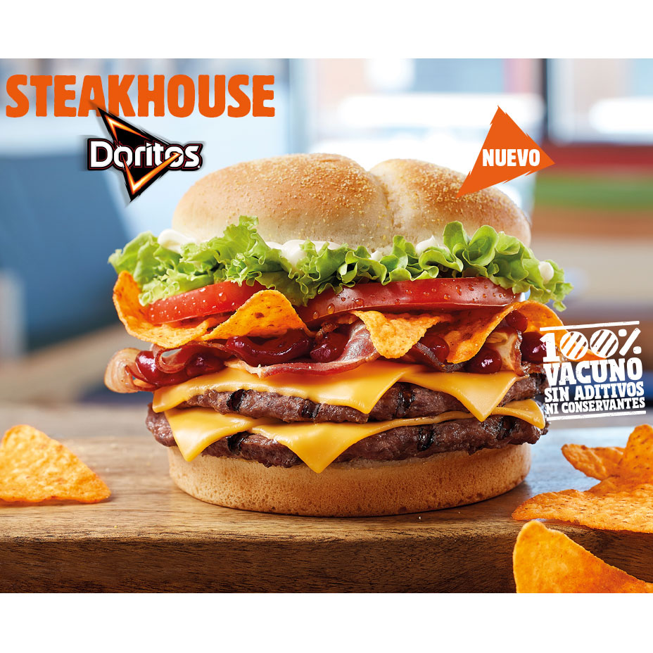 Burger King Spain Takes the Lazy Route, Throws Doritos on Top of a