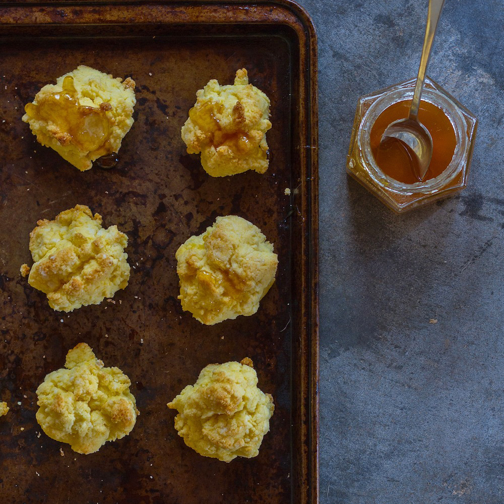 Buttered Almond Biscuits
