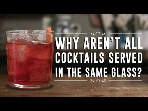 Finally A Bartender Explains Why There Are Different Glasses for Different Cocktails