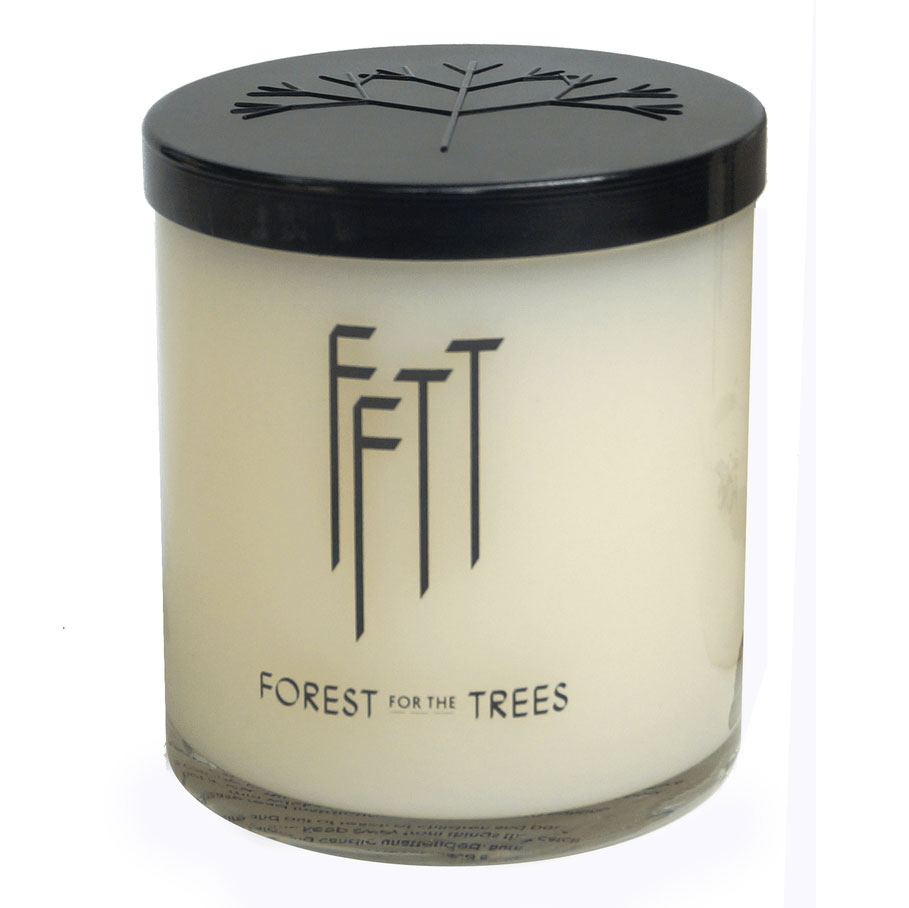 Forest Trees Oak Candle