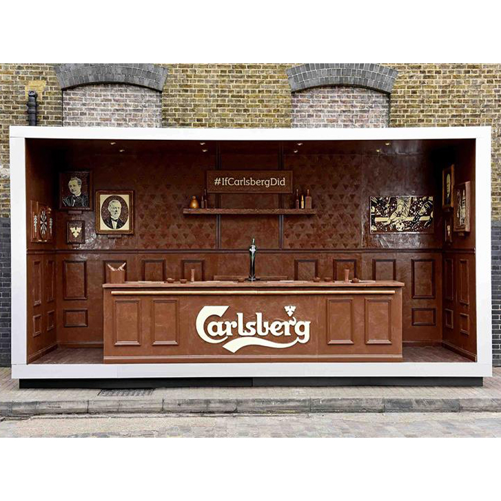 CARLSBERG CHOCOLATE BAR FWX