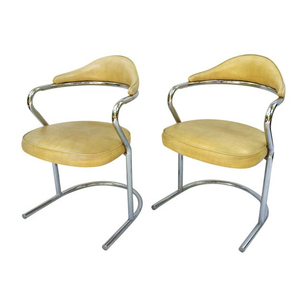 Cantilevered Chairs