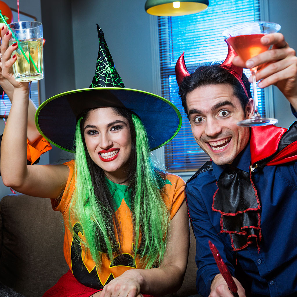 Halloween Drinking Games That Will Put a Drunken Spell On You