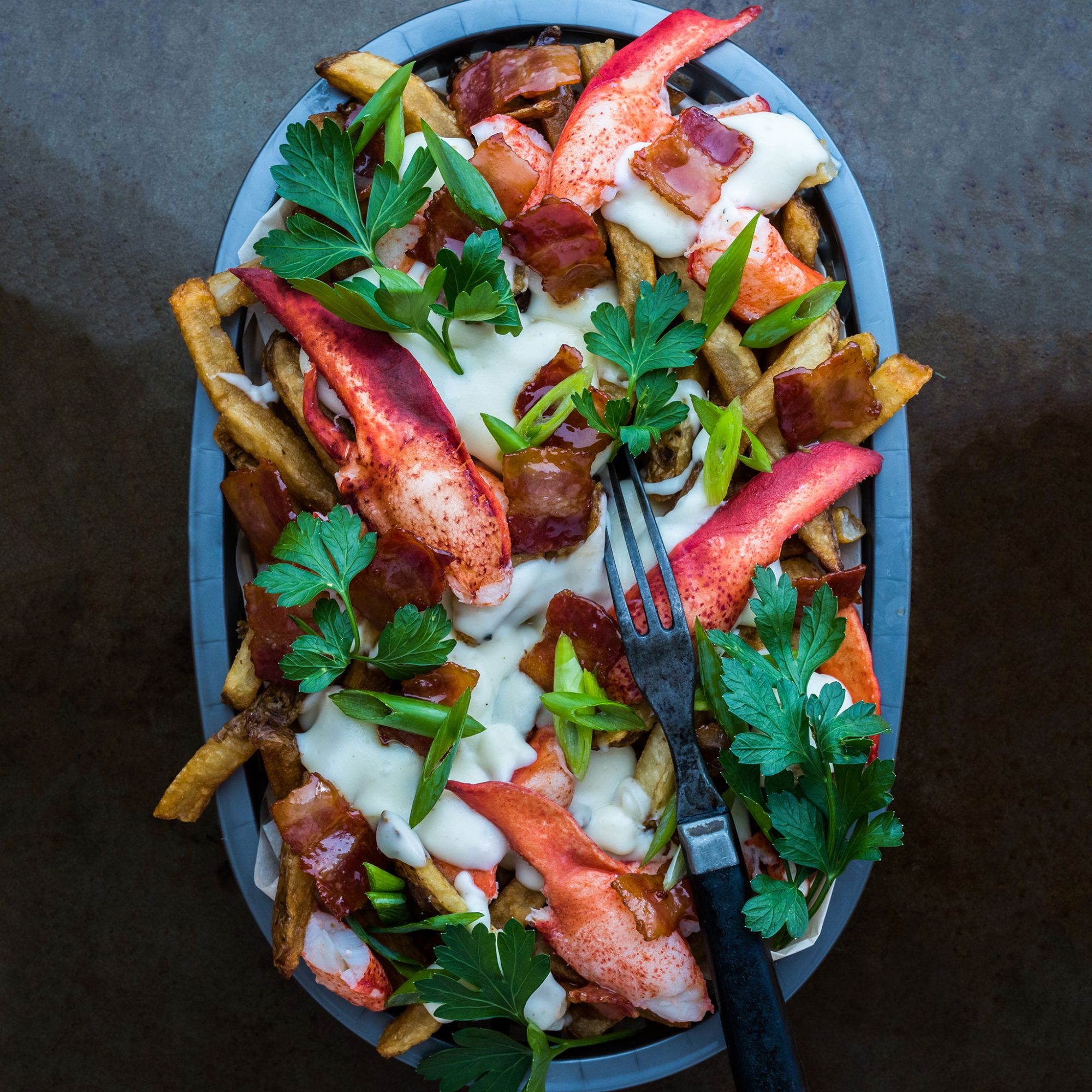 Make These Super Cheesy Bacon and Lobster French Fries Because There Is No Good Reason Not To