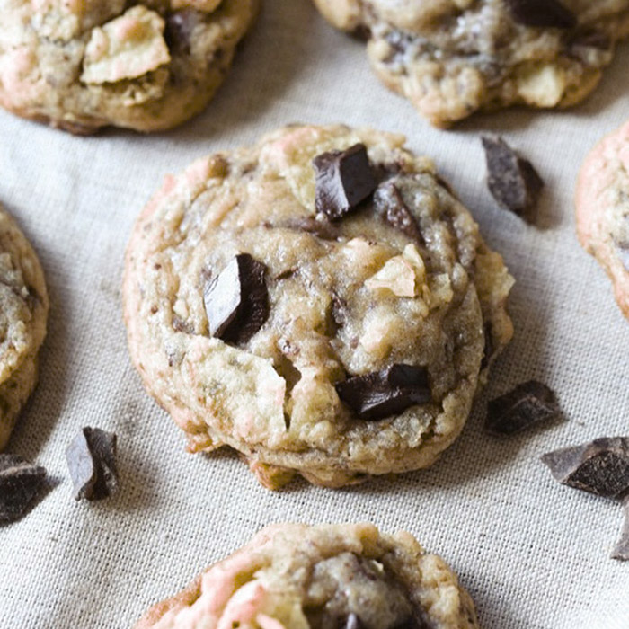 Chocolate Chunk Kettle Chip Cookies