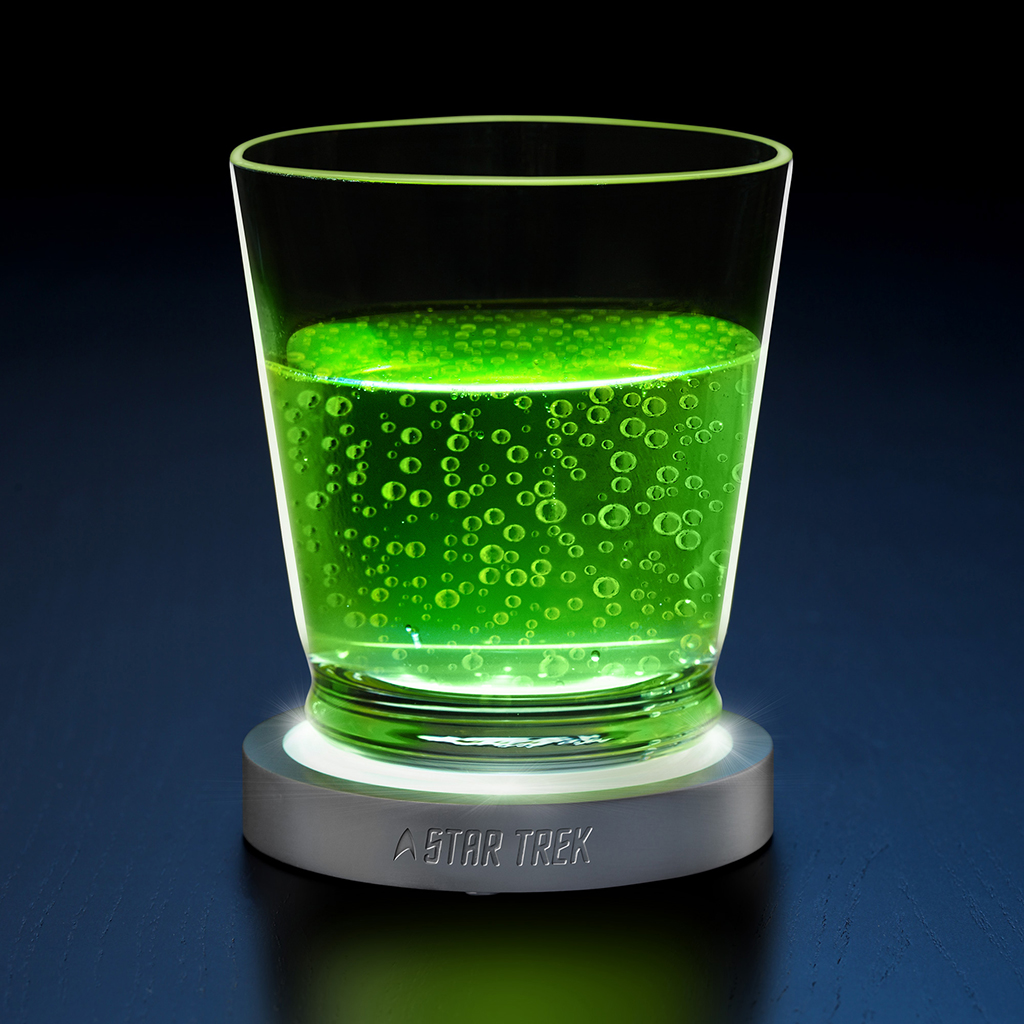 Transporter Pad LED Coasters