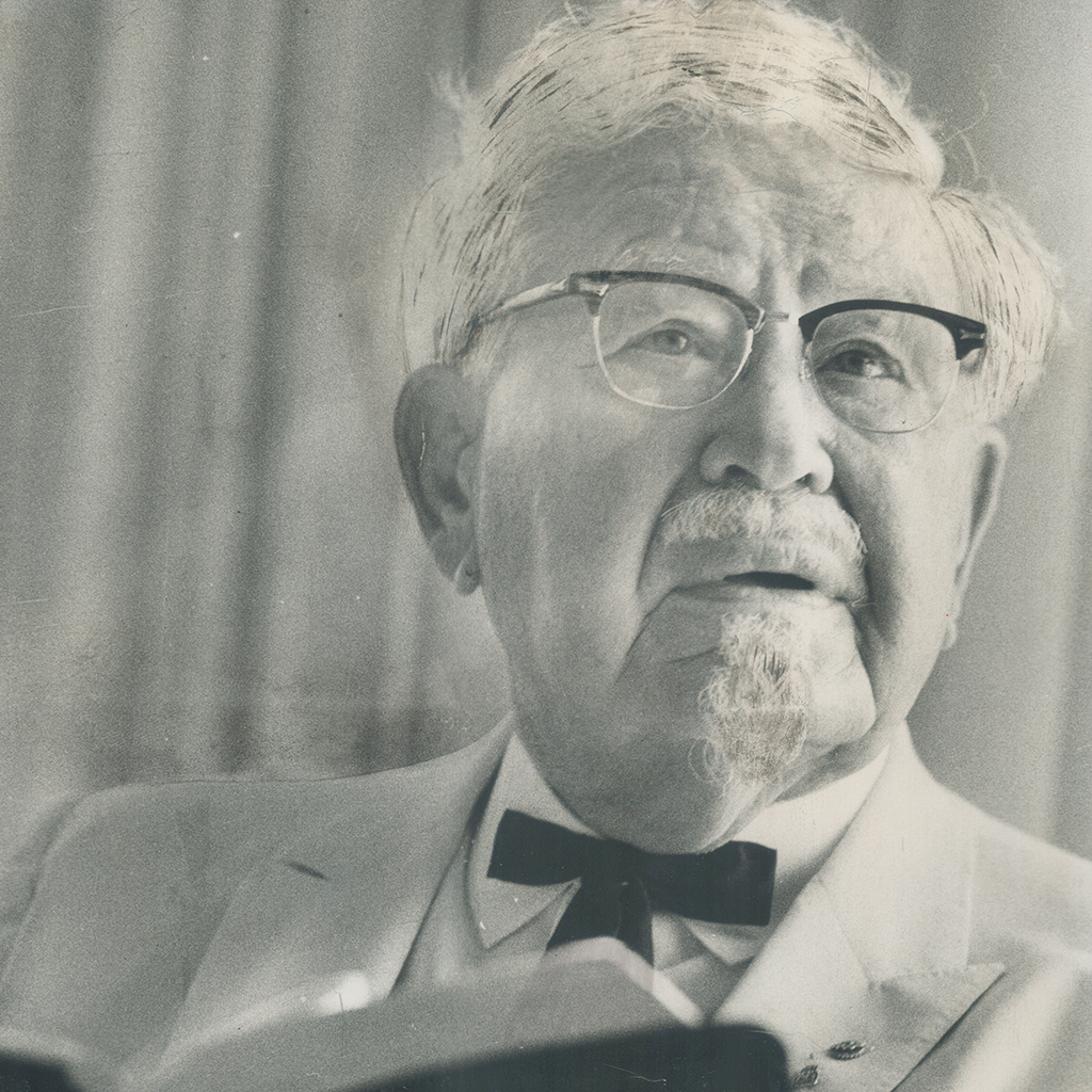 The Real Colonel Sanders Hated Everything that KFC Became   Food & Wine