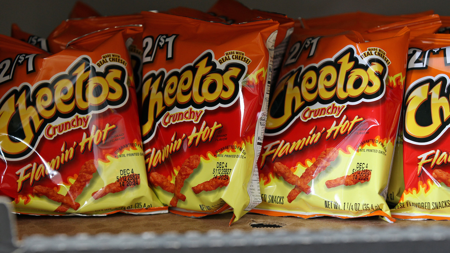 Flamin' Hot Cheetos Now Come in Ranch Flavor