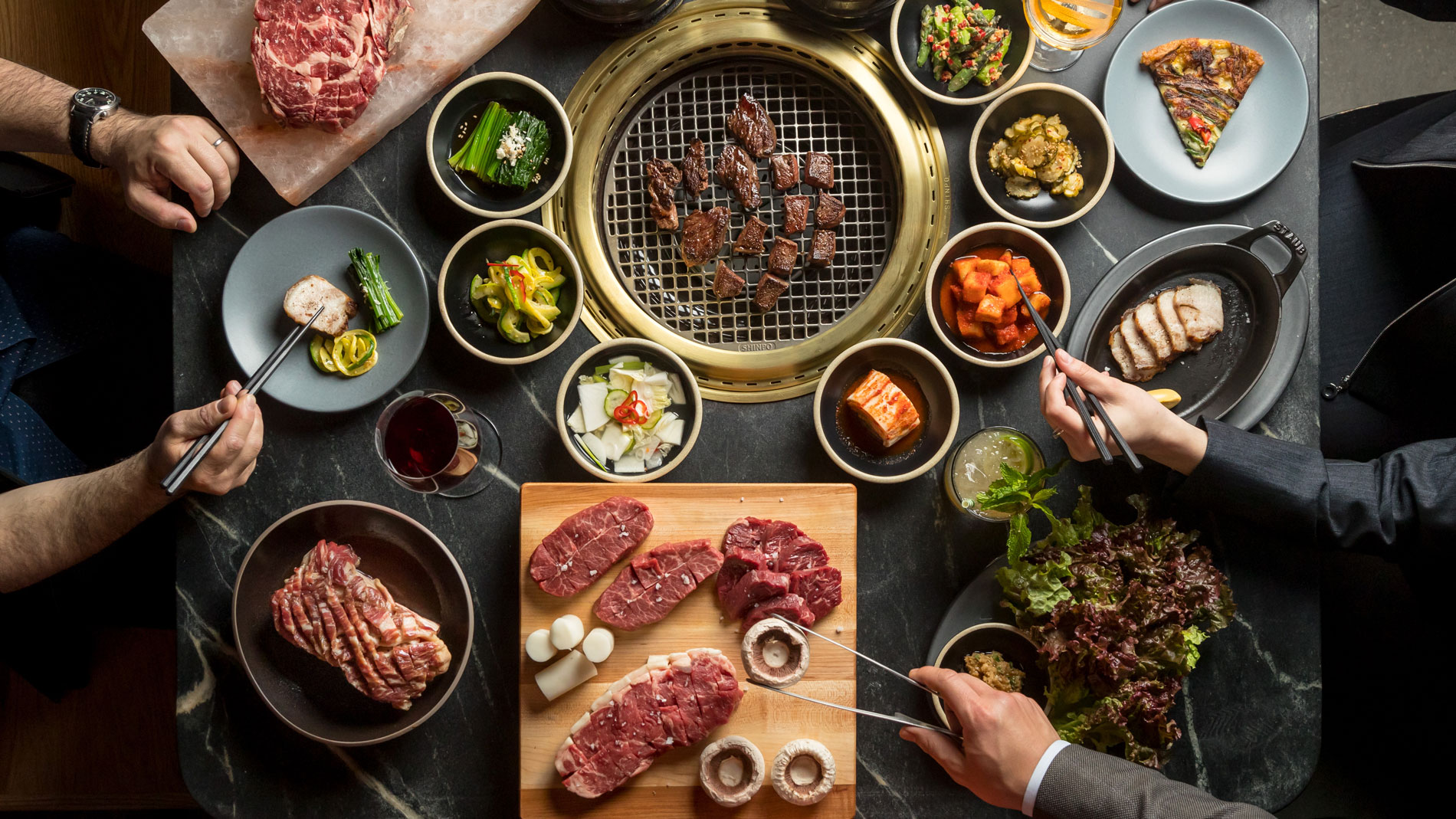 A Complete Reimagining of the All-American Steakhouse at NYC's Cote