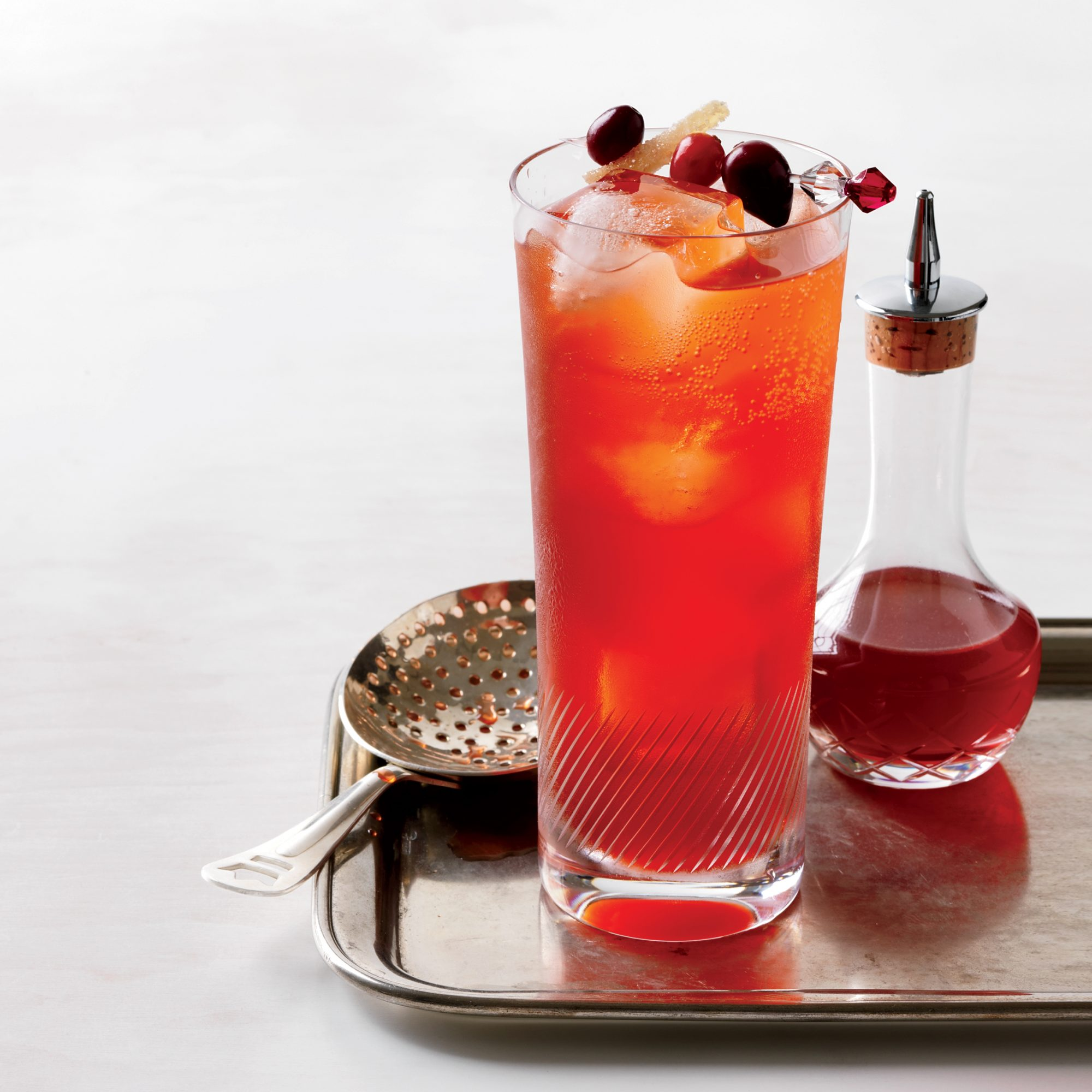 Thanksgiving Cranberry Spice Cocktail