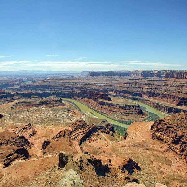 Dead Horse Point State Park in Moab, Utah