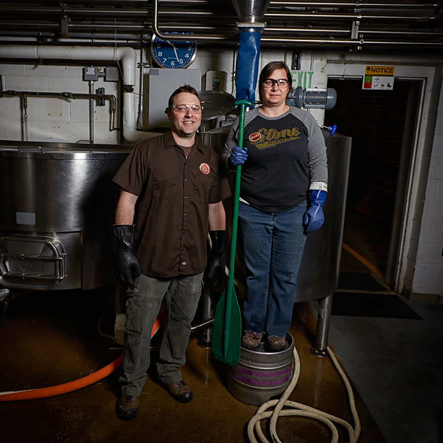 Odell Brewing and Stone Brewing