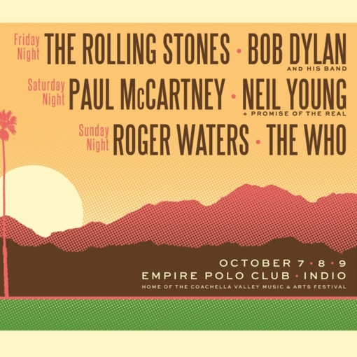 The Food and Music Lineups for the Desert Trip Festival Look Awesome