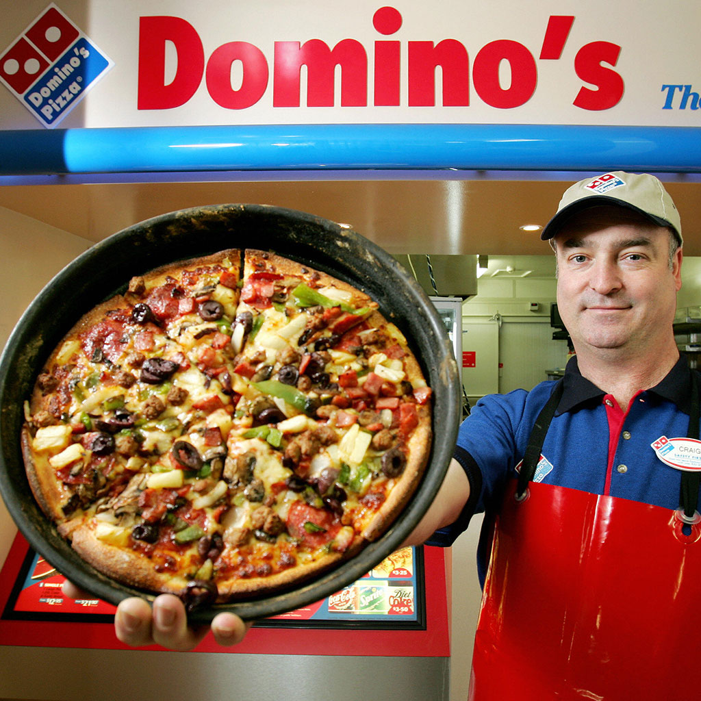 Honesty Pays for a Year's Worth of Free Domino's Pizza