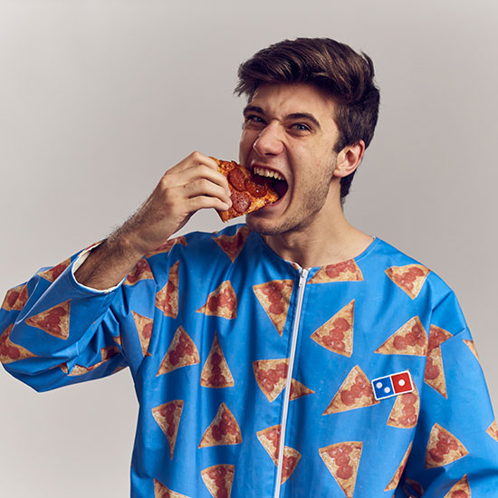 Domino's Designed the Perfect Outfit for Messy Pizza Eaters