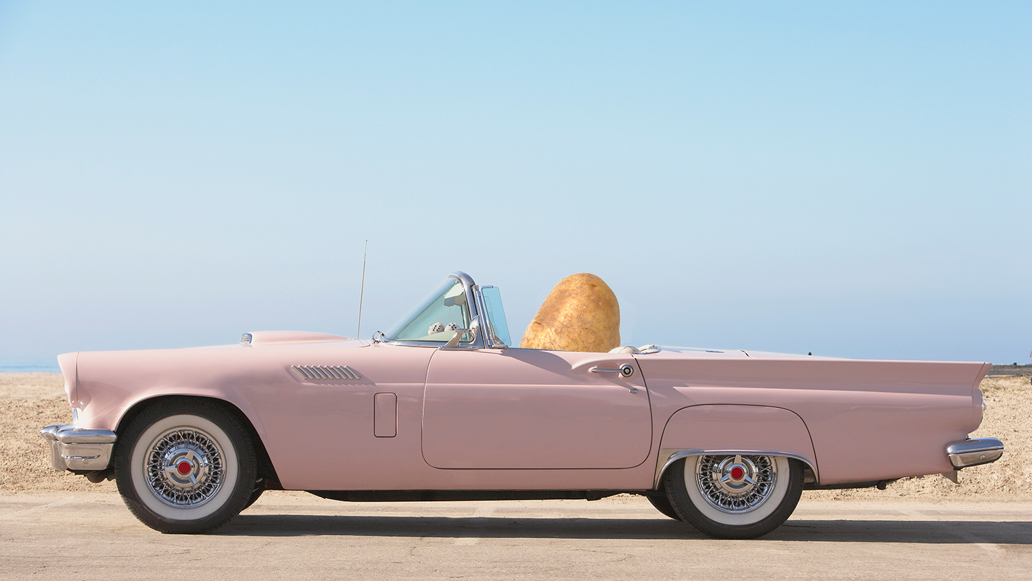 potato powered car