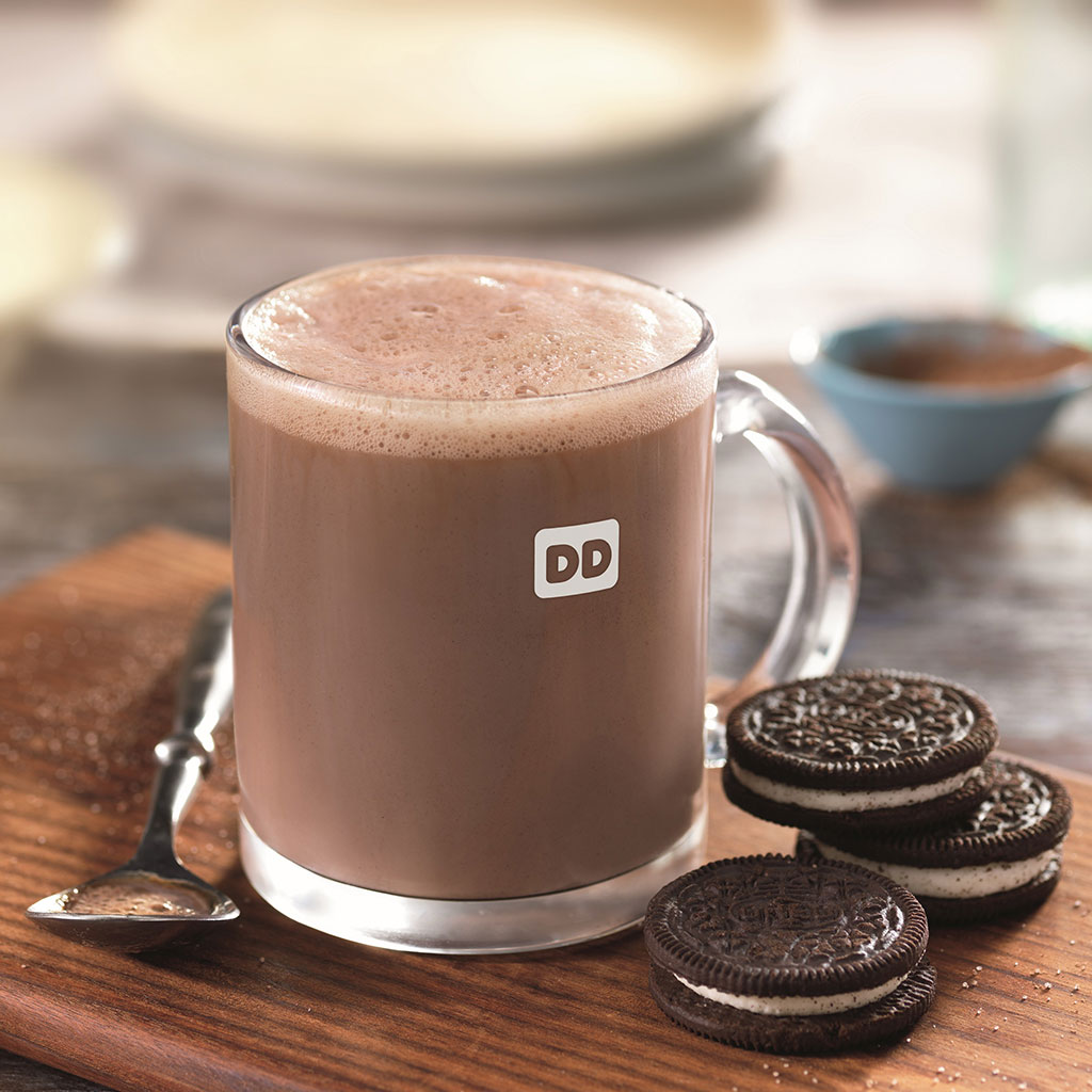 You Have Dunkin' Donuts to Thank for Oreo Hot Chocolate | Food & Wine