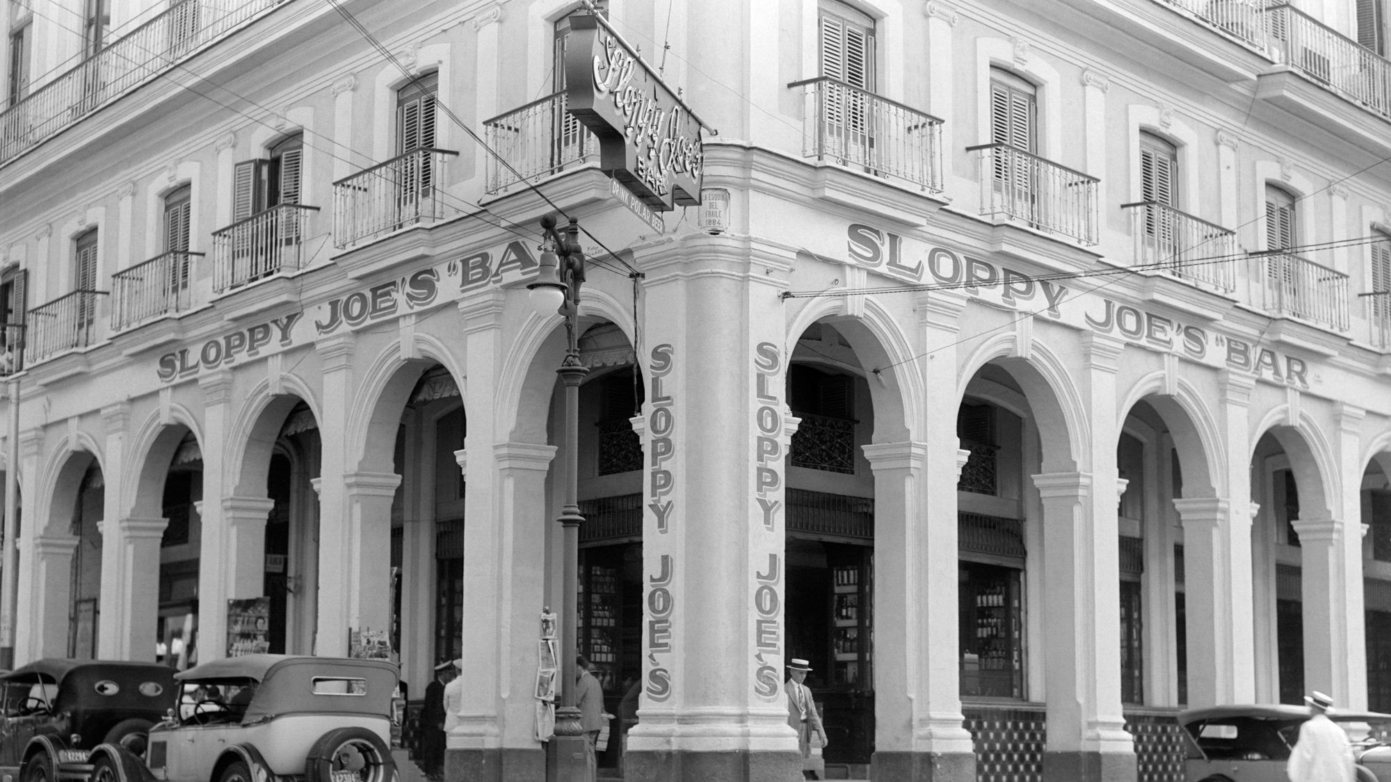 FACADE OF SLOPPY JOE'S BAR  HAVANA CUBA