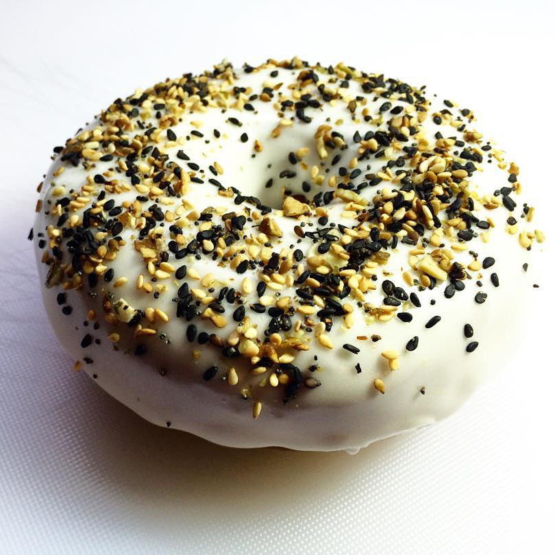 Doughnuts and Bagels Collide with the 'Everything Doughnut'