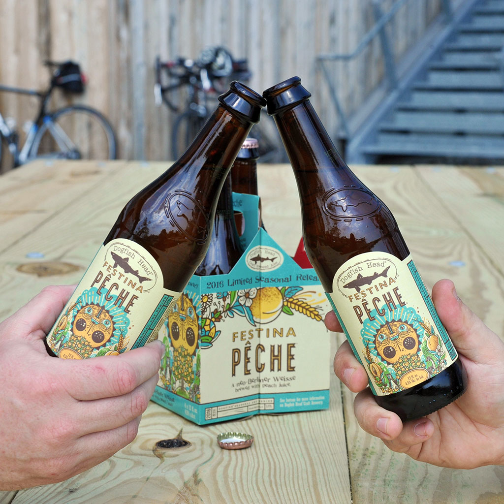 Dogfish Head Craft Brewery, Festina Pêche, beer