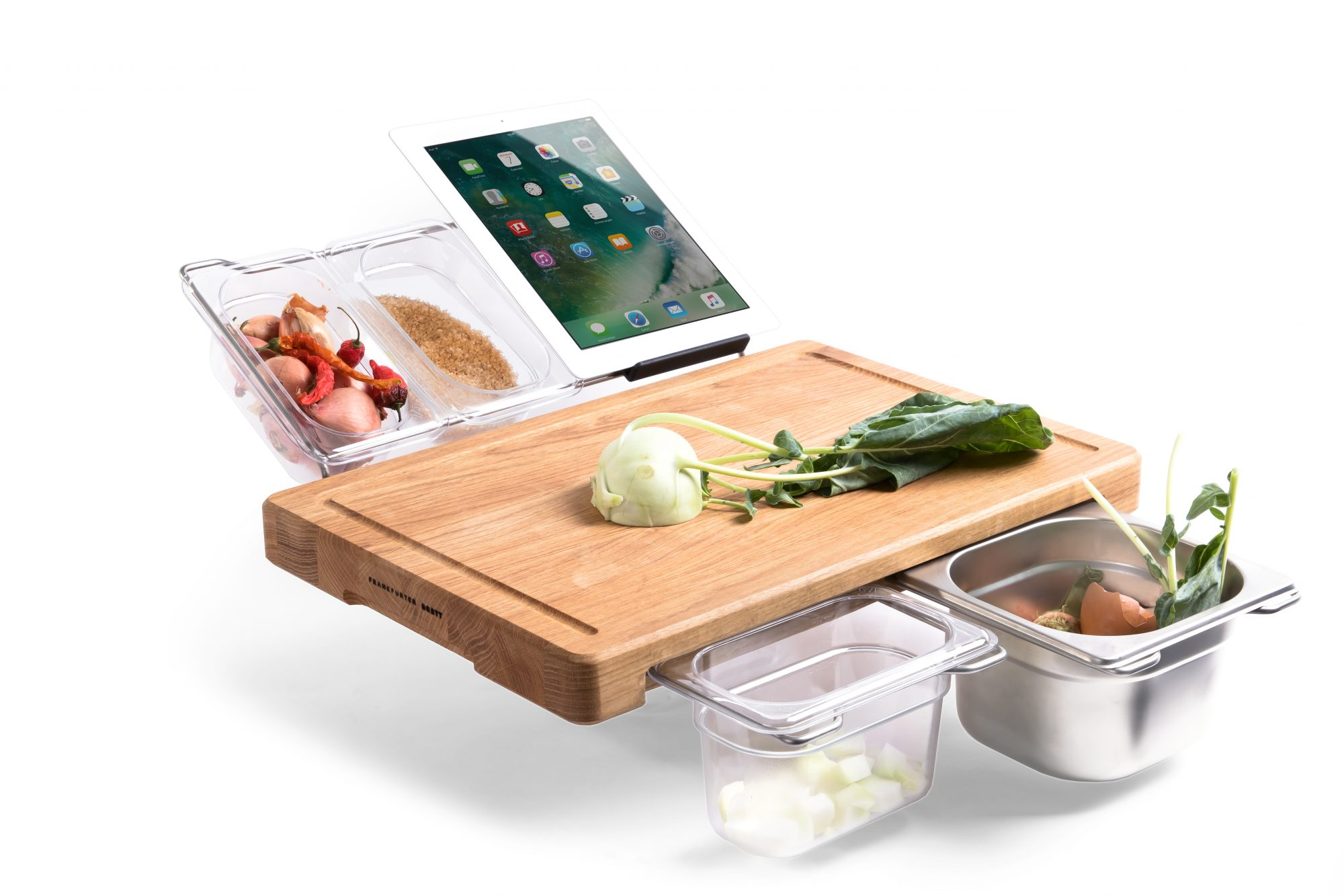 The Cutting Board of the Future Does Pretty Much Everything