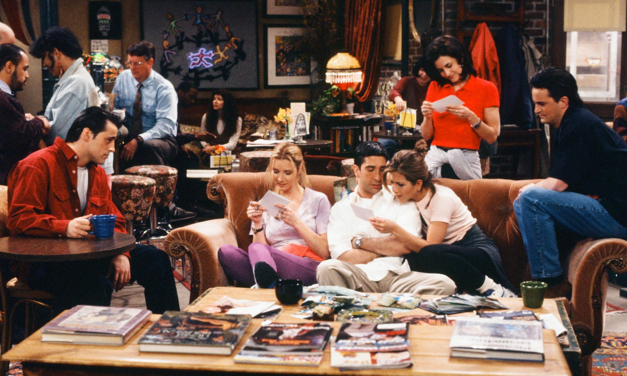 This Is How Much Coffee 'Friends' Characters Drank in 10 Years