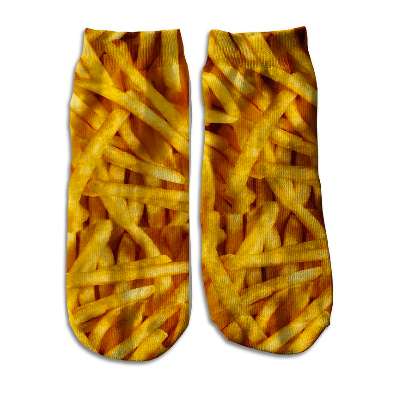 runner, gift, gift guide, socks, fries