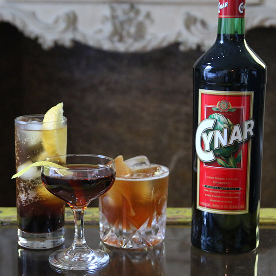 FWX 3 COCKTAILS CYNAR GROUP