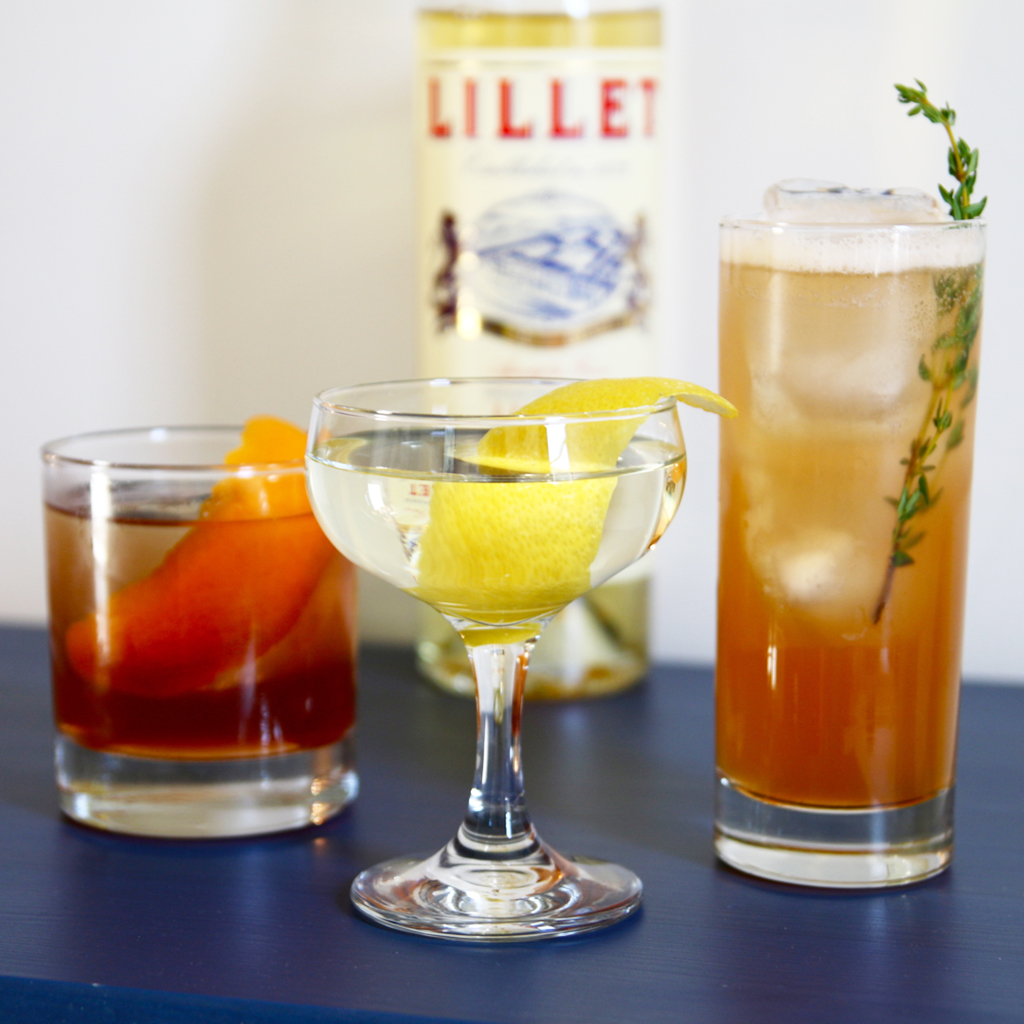 3 summer drinks to make with lillet blanc food wine for Cocktail recipes with white wine