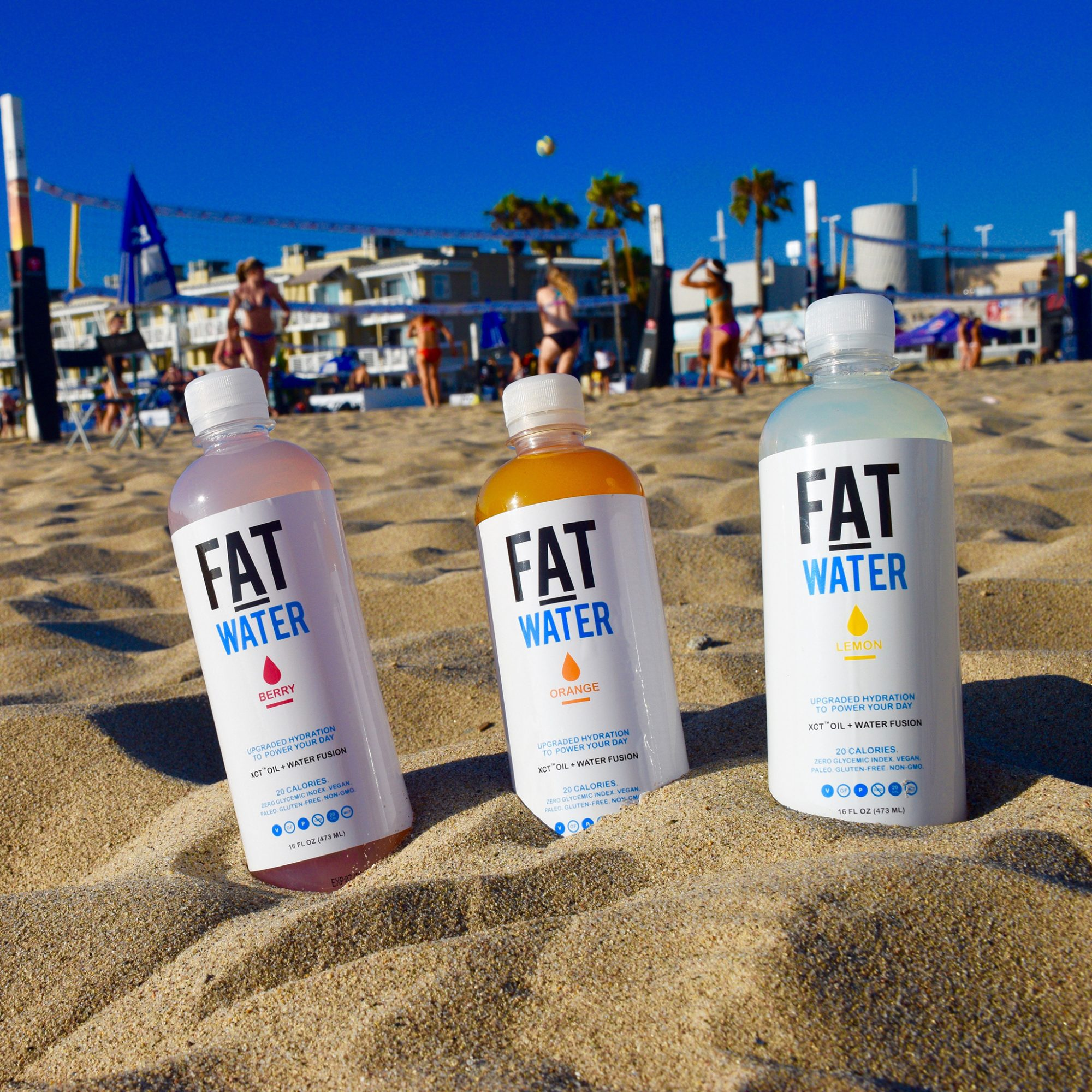 Water With Added Fat Is the New Fad Health Drink