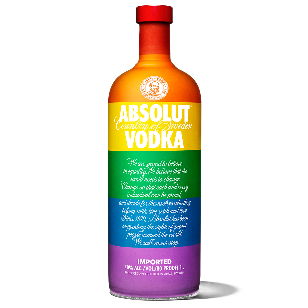 Absolut Wants You Drinking to Equality with Rainbow Vodka Shots