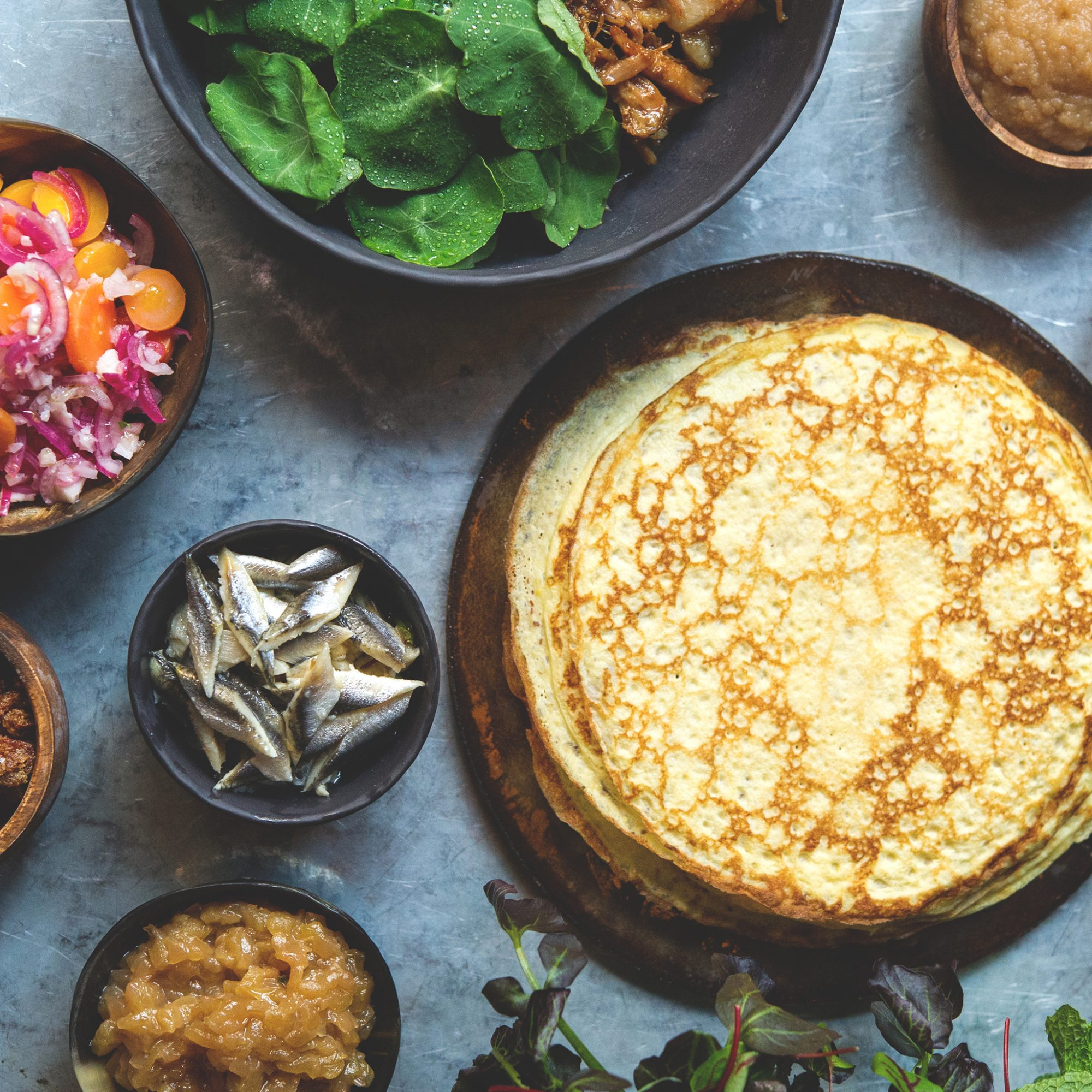 Your One-Dish Brunch Spread (Now with Pig Ears)