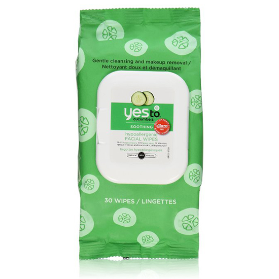 Yes to Cucumbers Soothing Facial Wipes