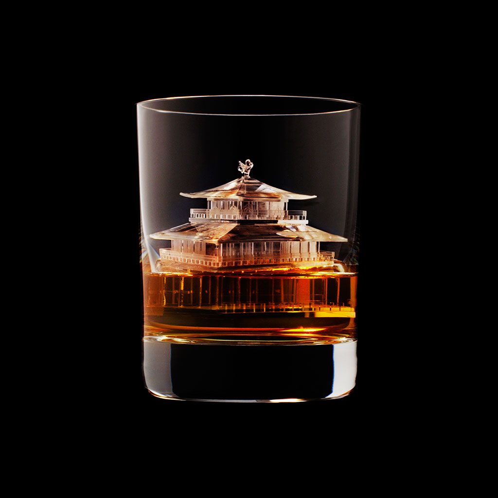 FWX ARCHITECTURAL WHISKEY ICE KINKAKUJI