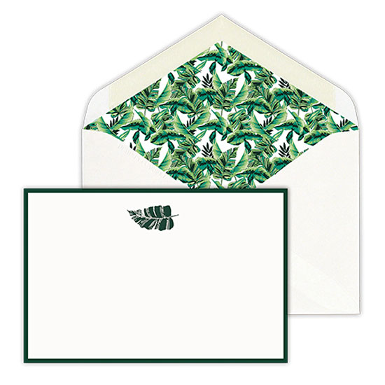Milly Banana Leaf Cards