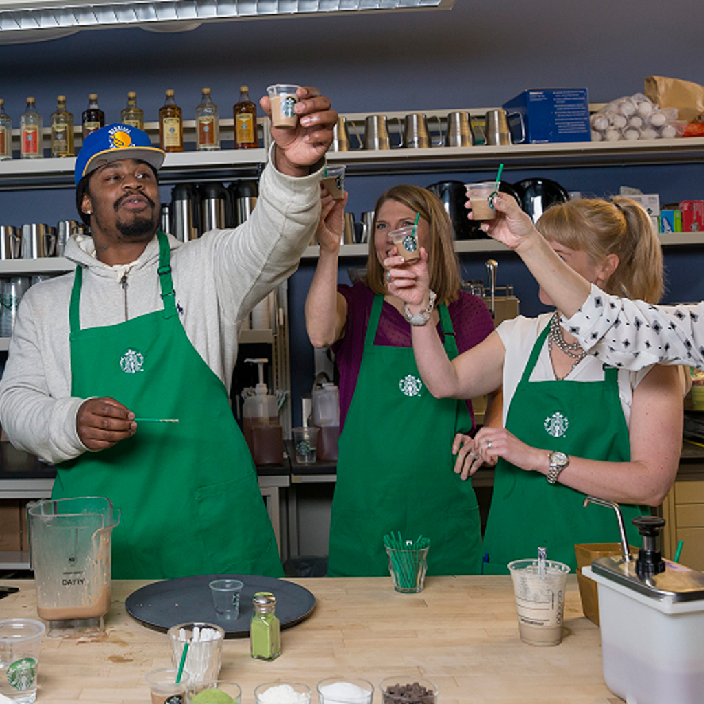 Marshawn Lynch Just Invented His Own Frappuccino