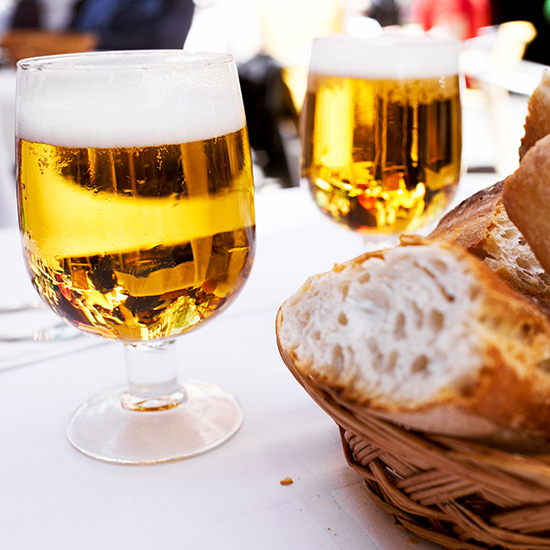 FWX BEER MADE OUT OF BREAD